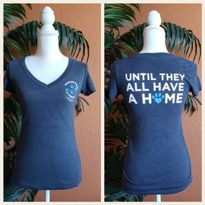 3/$25 Next Level Dog Pet Rescue V Neck Fitted Tee